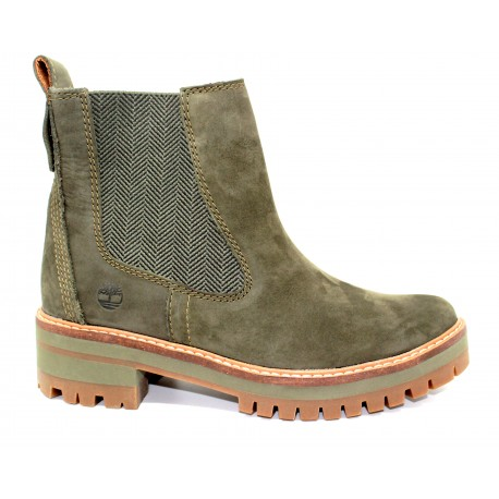 1d171cf8a28 timberland bottine femme courmayeur valley ch olive - cardel chaussures