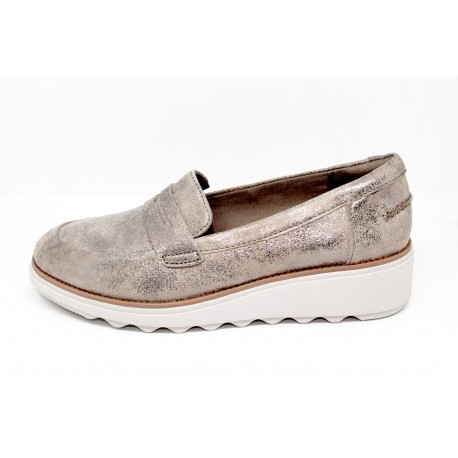 d2cefe9156a clarks mocassin femme sharon ranch - cardel chaussures