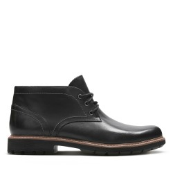 clarks batcombe lo black chaussure montante