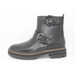 timberland femme bottine london square chukka black full grain