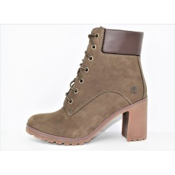 timberland femme boot allington 6in olive nubuck