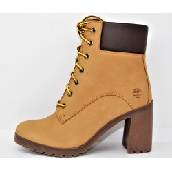 timberland boot femme allington 6in wheat nubuck
