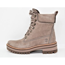timberland femme boot courmayeur valley yellow taupe gray