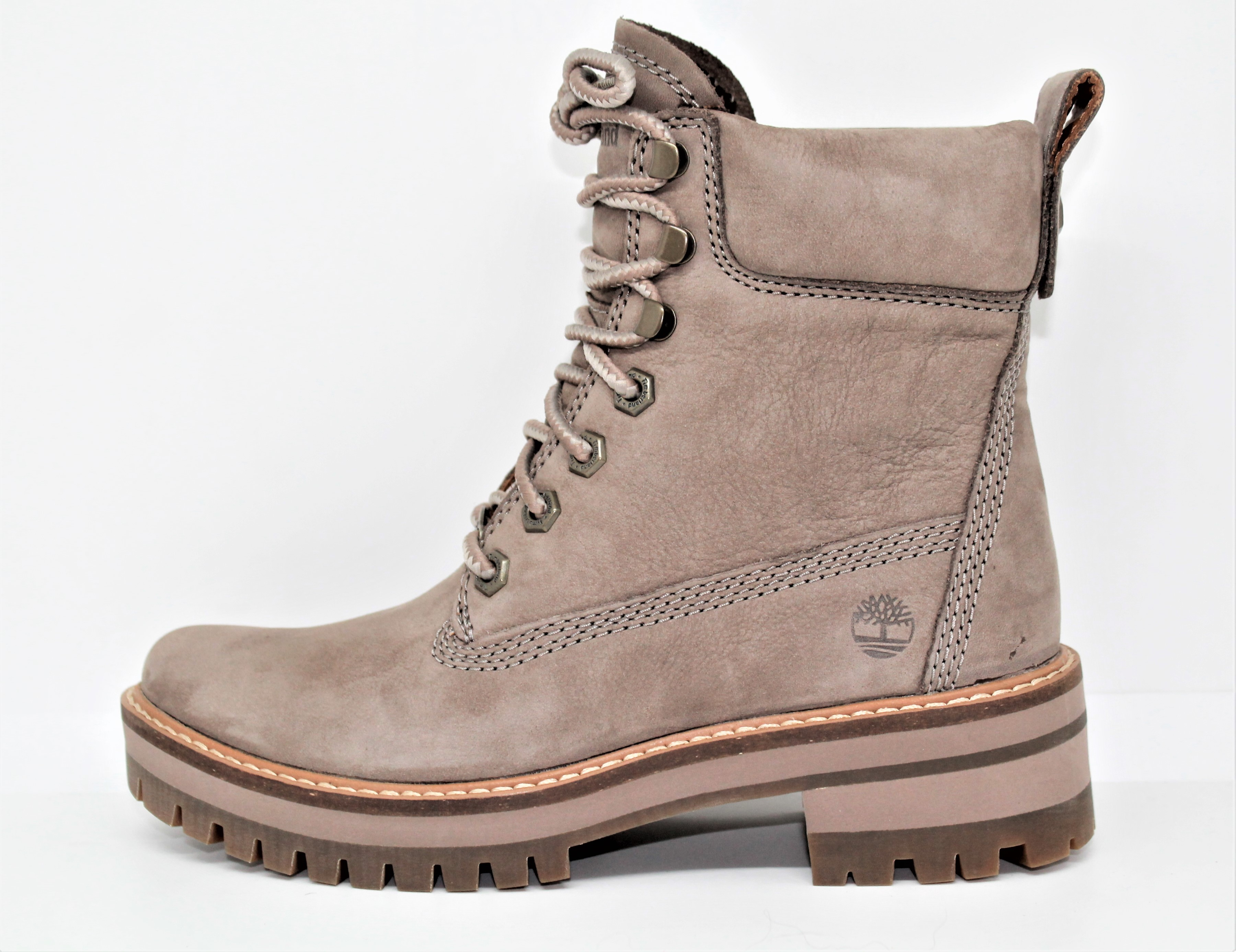 diagonal inteligencia idioma  timberland femme boot courmayeur valley yellow taupe gray - cardel  chaussures