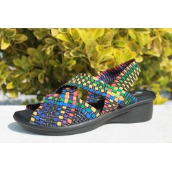 bernie.mev femme brighten black multicolor