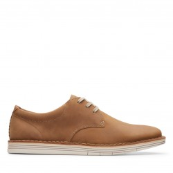clarks homme forge vibe tan cuir