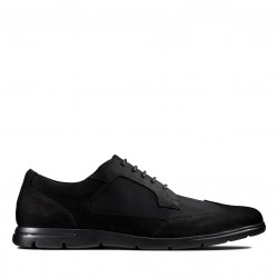 clarks homme vennor wing black combi