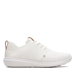 clarks homme step,urban mix blanc
